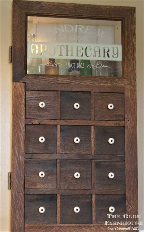 Diy Apothecary Cabinet by Diy Apothecary Sign Display Shelf Knick Of Time