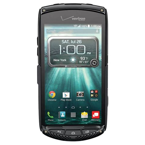 verizon rugged smartphone kyocera brigadier e6782 16gb black verizon wireless rugged smartphone 67215023835 ebay