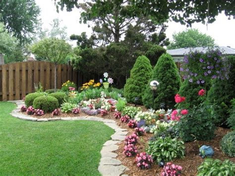 Small Backyard Flower Garden Ideas Perennial Flower Garden Ideas Flower Idea