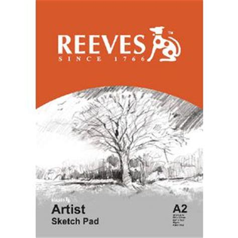 sketchbook reeves reeves a2 artist sketch pad 30 sheet officeworks
