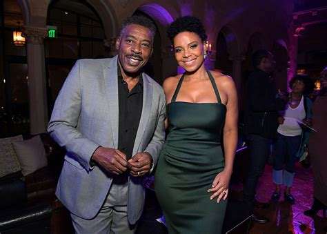 ernie hudson  sanaa lathan attend  afterparty