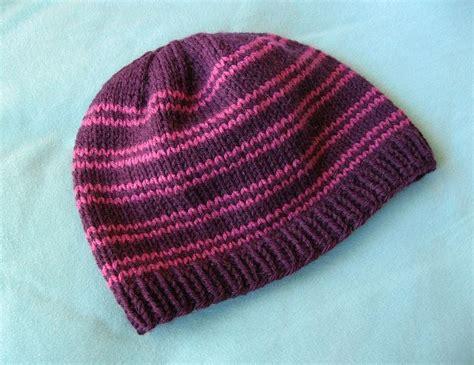 free knitting pattern hat pinterest basic knit hat free ravelry pattern yarny things