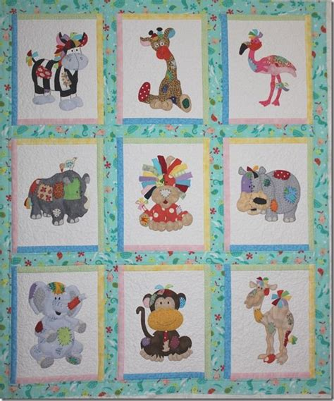 Animal Patchwork Quilt Patterns - best 25 children s quilts ideas on baby