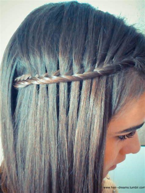 plait hair parents 1000 ideas about fishtail waterfall braids on pinterest