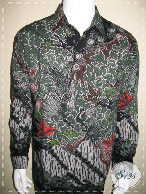 415 Marun Kemeja Batik M Xl Lengan Panjang Seragam batik tulis lengan panjang kemeja batik pria mewah dan mahal lp415tf xl toko batik 2018
