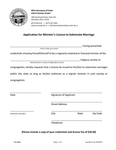 State Of Ohio Records Florida Birth Certificate Record Marriage License