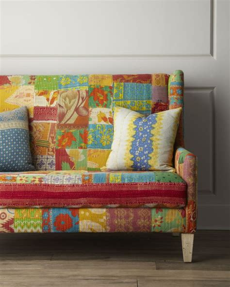 colorful furniture colorful jara settee