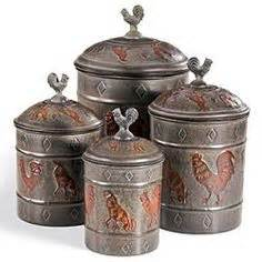 rooster kitchen canister sets canister sets tuscan kitchen decor and roosters on