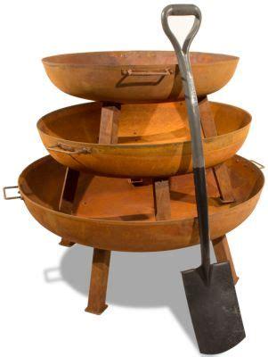 feuerschale aus gusseisen feuerschale aus gusseisen mit rostoptik 75cm 89 99