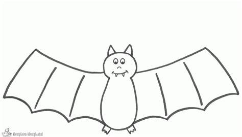 black bat coloring page kleurplaten vleermuis kleurplaten kleurplaat nl
