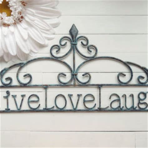 love home decor sign home decor sign live love laugh sign from willows grace