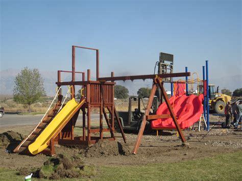 school playground swings mackay idaho 83251 mackay elementary school playground