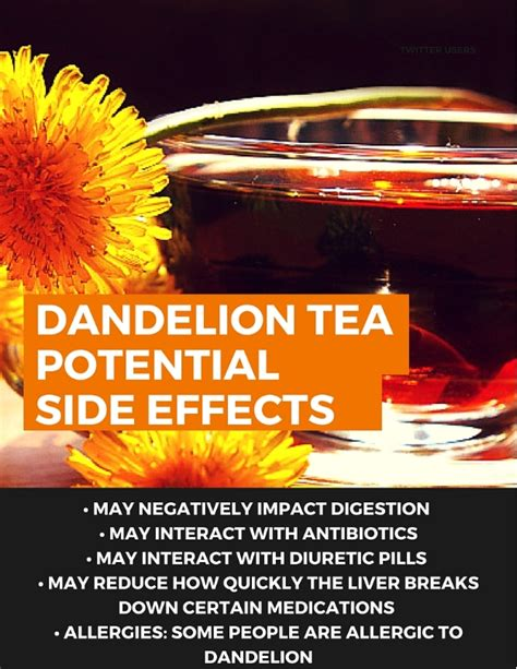 Your Tea Detox Side Effects by The Health Benefits Of Dandelion Tea Detox
