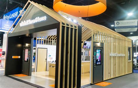 home design expo vivint smart home booth at naa 2017 by mackenzie exhibit tradeshow events expo exhibition