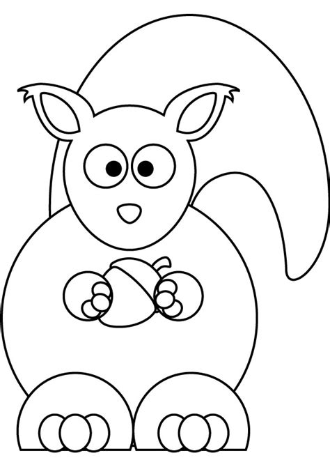 baby squirrel coloring page pin baby squirrel coloring page on pinterest