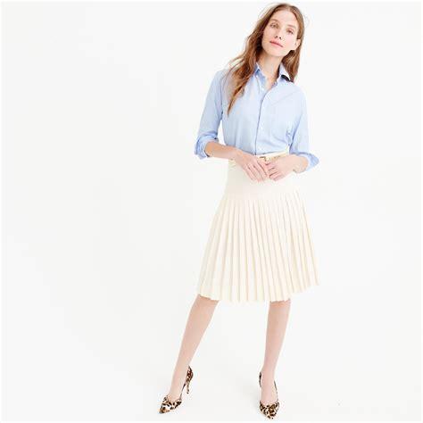 drop waist pleated skirt breezles by erin