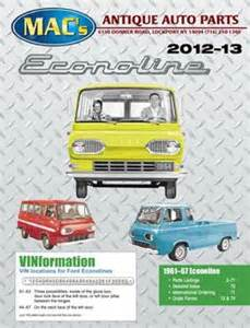 Macs Ford Parts Ford Econoline 2012 2013 Parts Accessories By Macs