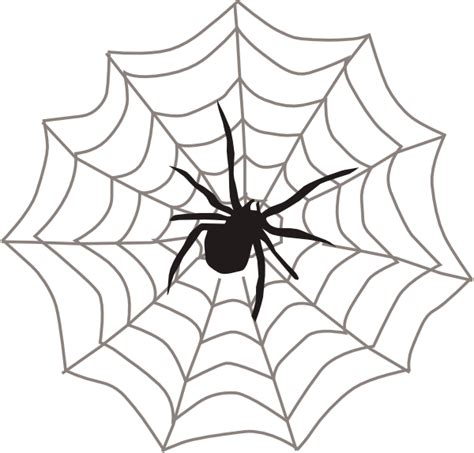 Spider With Web Clip Art at Clker.com - vector clip art ... Free Clipart On The Web