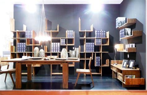 librerie legno naturale libreria porta cd etnica legno naturale etnicoutlet mobili