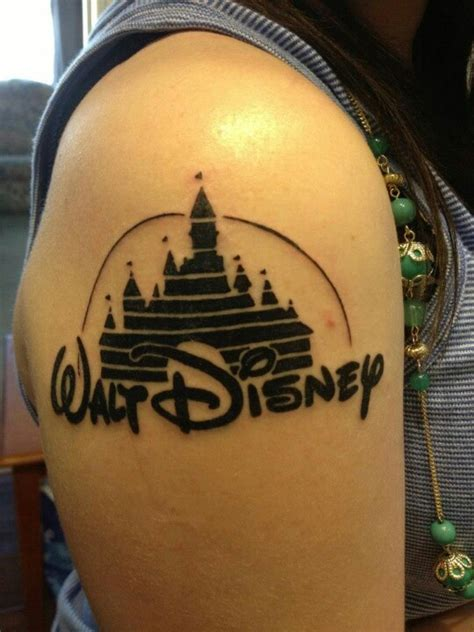 disney castle tattoo disney castle tattooness disney