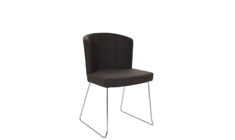 duke sparta tub chair in pu eco leather with chrome legs