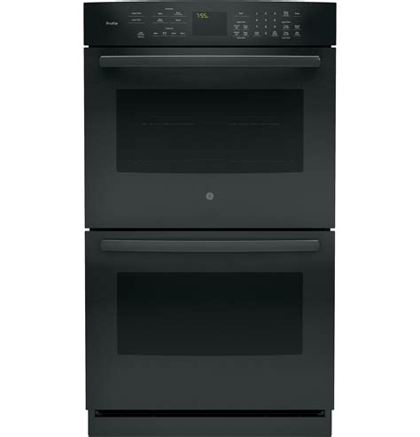 how to install a wall oven in a base cabinet ge profile series 30 quot built in double wall oven with