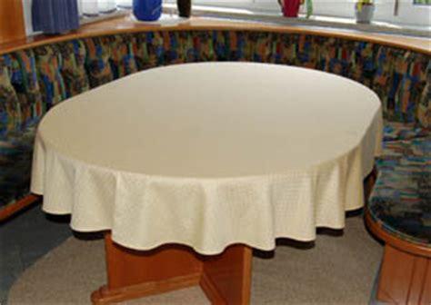 tischdecken für ovale tische punktdamast tischtuch oval 175x240 cm