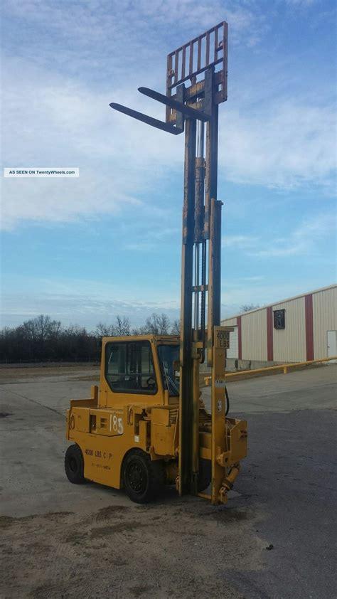 drexel swing mast drexel 4000lb diesel swing mast forklift wow