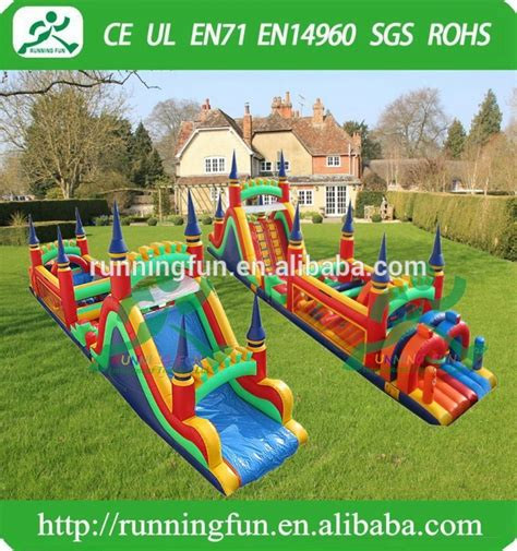 backyard obstacle course for adults outdoor adults inflatable obstacle course equipment for