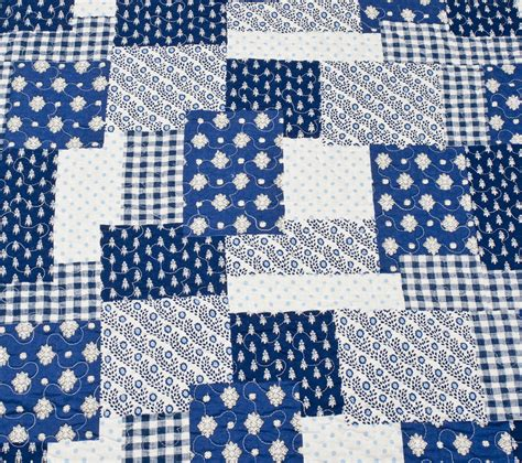 Blue Patchwork Quilts - quilts and bedding wallpaper