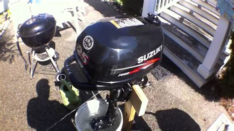 Suzuki 2 5 Outboard For Sale Suzuki Outboard 2 5 Hp Test Run