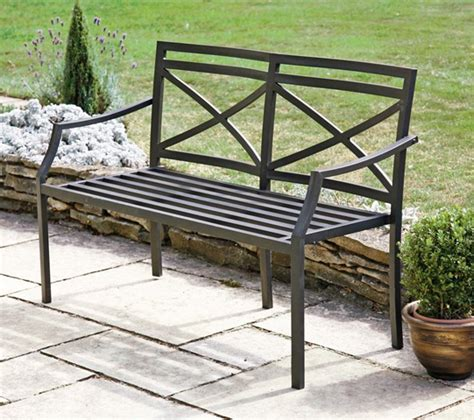 steel garden bench provence 1 2m 3ft 11 188 ins steel bench 163 79 99