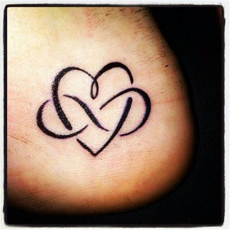 Tattoo Heart Infinity Symbol | heart and infinity sign tattoos pinterest signs