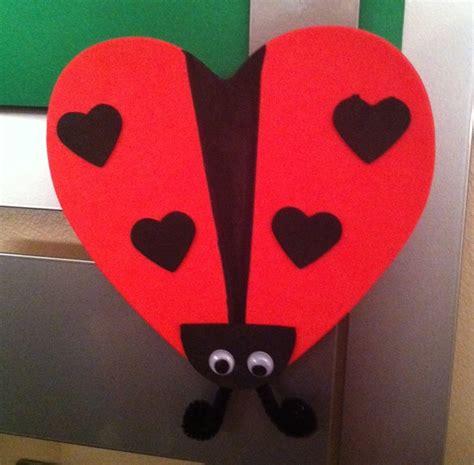 ladybug pattern for kindergarten heart ladybug craft idea crafts and worksheets for