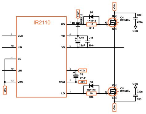 bootstrap circuit calculator ir2110 bootstrap capacitor calculation 28 images bootstrap capacitor 28 images transistor