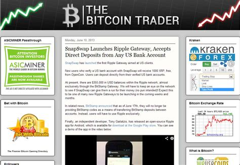 bitcoin trader where do you get your bitcoin news 10 bitcoin blogs you