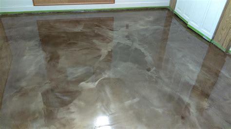 Concrete Floor Epoxy by Metallic Epoxy Floors Lima Ohio Elite Concrete Creations