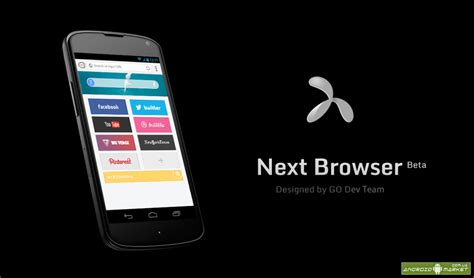 next browser новый браузер 187 android market play