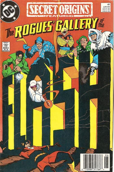 In The Of Rogues dc histories the rogues