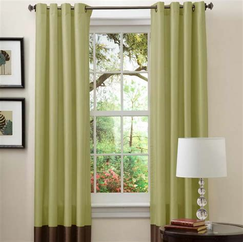 Window Curtain Ideas | bloombety window curtain ideas with decorative lighting