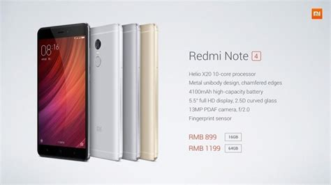 xiaomi redmi note 4 xiaomi redmi note 4 goes official with 10 helio x20 processor files fort