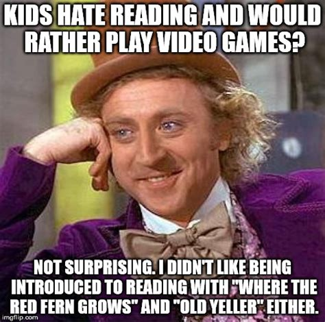 Reading Memes - introduce reading with fun books imgflip