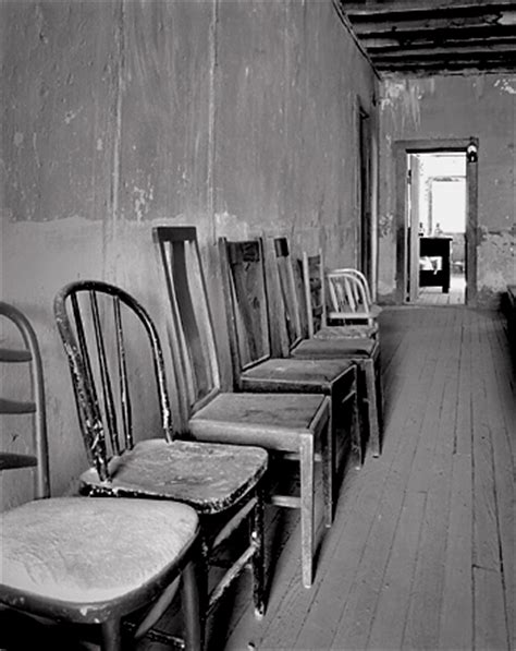 The Chair Photography by Chairs Shakespeare New Mexico Black And White