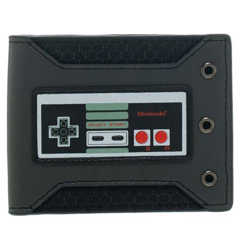 Nintendo Controller Wallet by Nes Controller Rubber Badge Bi Fold Wallet Nintendo