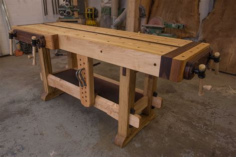 how to build a work table how to build a garage work bench with pictures wikihow