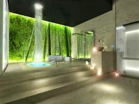 Waterfall Showers Bathroom Foundation Dezin Decor Waterfall Showers Interiors