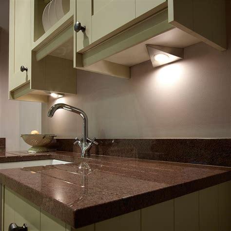 triangular under cabinet kitchen lights sls bermuda led under cabinet triangle light