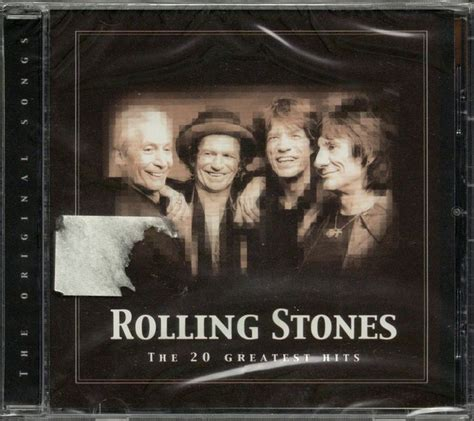 Cd Rolling Stones Still the rolling stones the 20 greatest hits cd still sealed