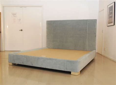 custom upholstered headboard bed base custom beds