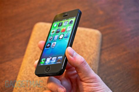 Colorant Iphone 5 Usg Clear 1 colorant usg itg tempered glass iphone 5 screen protector review gadgetmac